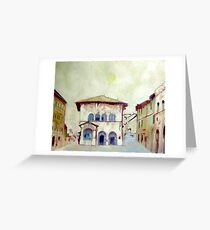 Cortona Greeting Card