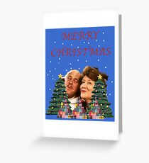 Hyacinth Bucket Christmas Greeting Card