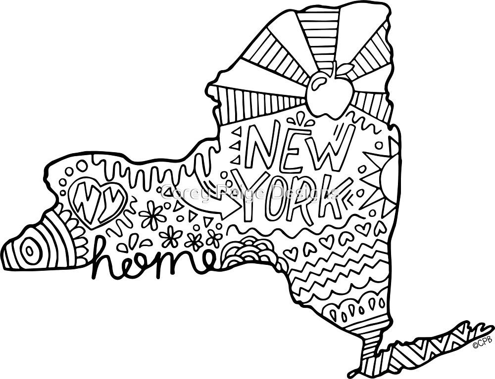 New York Design von Corey Paige Designs