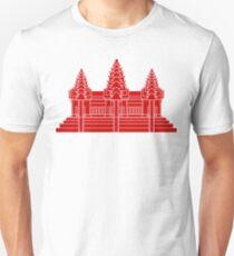 Angkor Wat / Khmer / Cambodian Flag Unisex T-Shirt