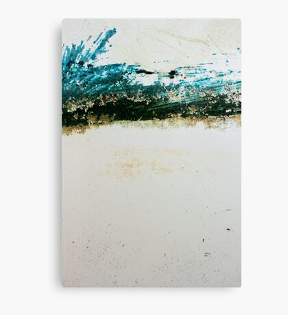 The blue stripes Canvas Print