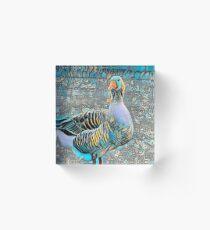 silly goose ... Acrylic Block