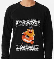 Ein sehr grießiger Weihnachtsstrickjacke Leichtes Sweatshirt