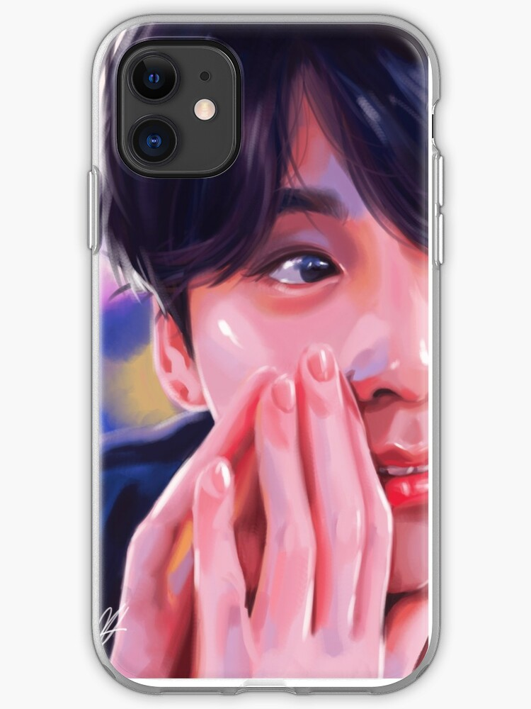 BTS K pop fanart 2 iphone case