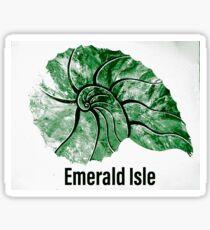 Emerald Isle  Sticker