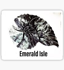 Emerald Isle Nautilus  Sticker