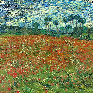 Field with Poppies - Vincent Van Gogh by manbird
