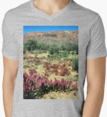 a vast Australia landscape Men's V-Neck T-Shirt