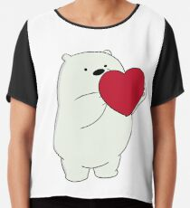 We Bare Bears Ice Bear Chiffon Top
