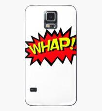 WHAP! Comics Fight Scene Noises Fun T Shirt Case/Skin for Samsung Galaxy