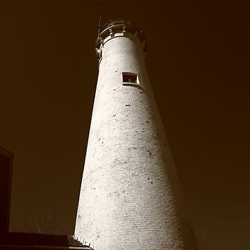 Lighthouse - Sturgeon Point, Michigan by Ffooter