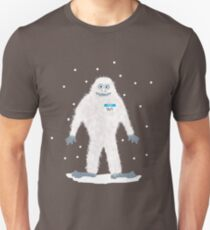 Yeti with Name tag Unisex T-Shirt
