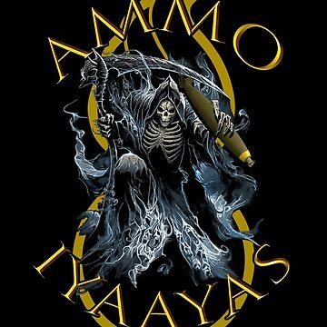 AMMO IYAAYAS Grim Reaper Bomb Pisspot by bigtimmystyle