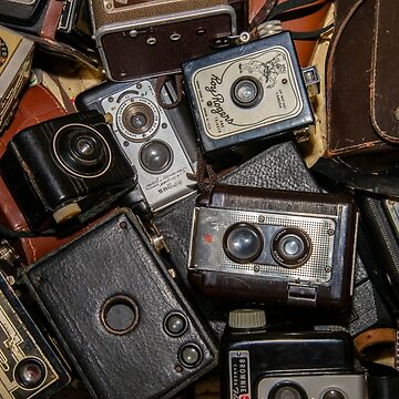 A Mess Of Old Cameras 2 by Gypsykiss