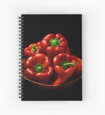 Capsicums  Spiral Notebook