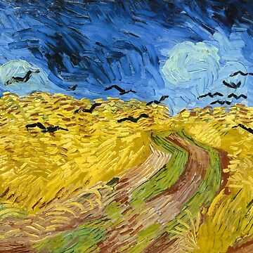 Vincent van Gogh - Wheatfield With Crows by manbird
