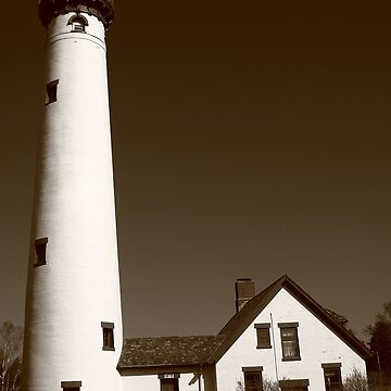 Lighthouse - Presque Isle, Michigan by Ffooter