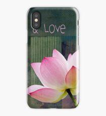 Live n Love - 0333-15a iPhone Case