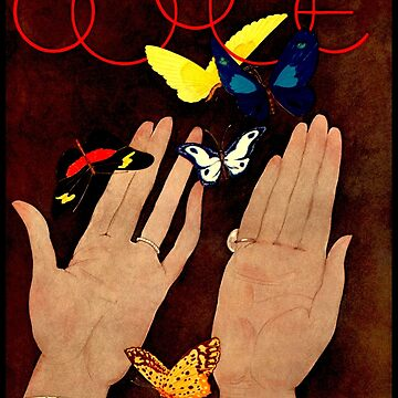 VOGUE : Vintage 1931 Magazine Advertising Poster Print by posterbobs