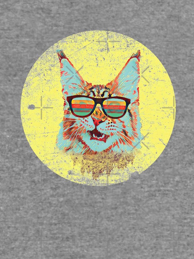 Retro Cat by Schwaz