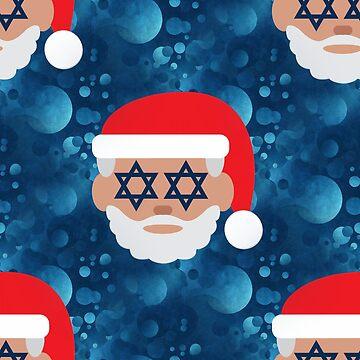 christmukkah santa emoji by gossiprag