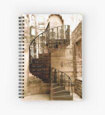 going up  Spiral Notebook