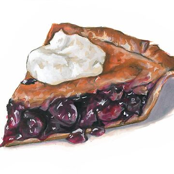Cherry Pie by brookedonlanart