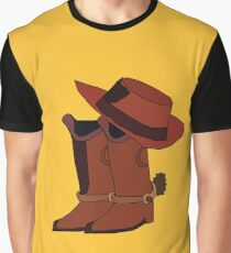 Woody Boots and Hat Graphic T-Shirt