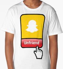 Unfriend - SC Long T-Shirt
