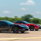 Corvette duel by Scott McKellin