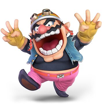 Super Smash Bros. Ultimate - Wario by overflag