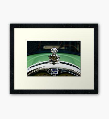 1927 Buick Master Six Brougham Sedan Ornament Framed Print