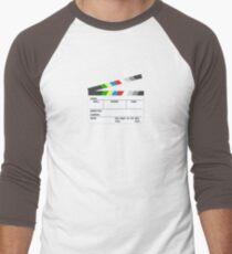 Clapperboard Men's Baseball ¾ T-Shirt