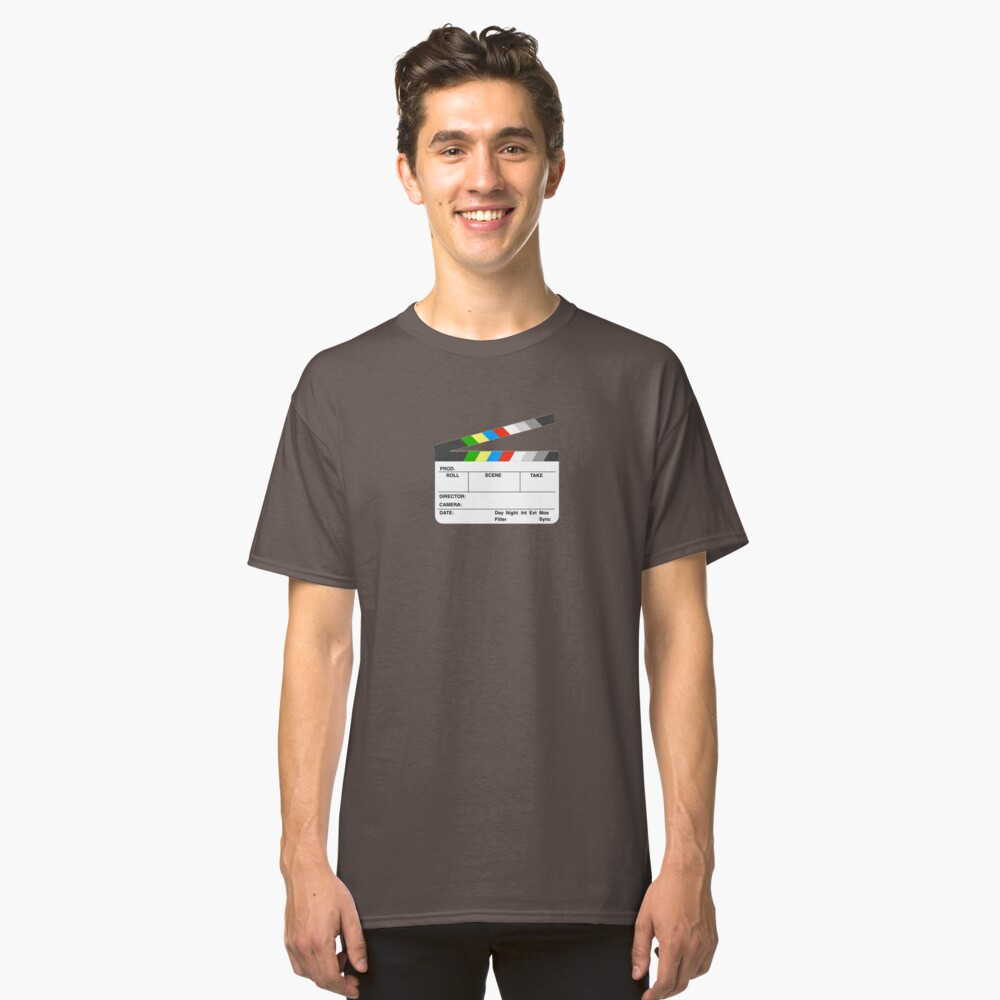 Clapperboard Classic T-Shirt Front