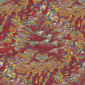 Pinecones - Autumn by NeonPink