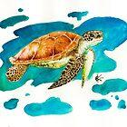 Sea Turtle by Kyra C. Kalageorgi