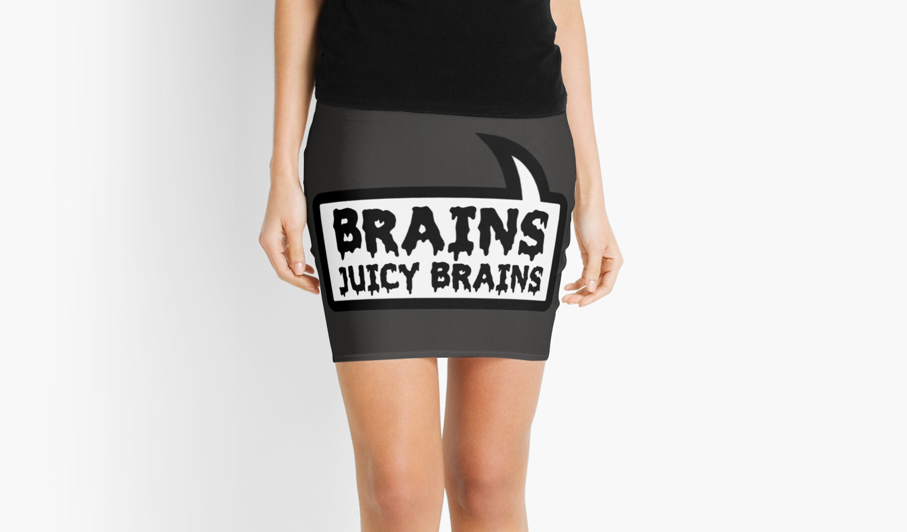 BRAINS JUICY BRAINS by Bubble-Tees.com by Bubble-Tees