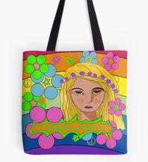 Flower Power Feeling Groovy Tote Bag