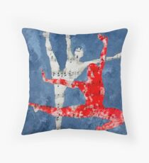 ballet lovers 2 Throw Pillow