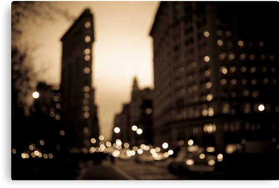 The Flatiron District, Manhattan by Gerald Holubowicz