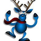 Reindeer Dancing by mademesmile