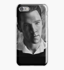 Benedict Cumberbatch Portrait iPhone Case/Skin
