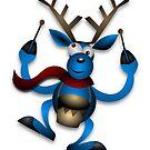 Reindeer in Drums by mademesmile