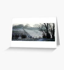 www.lizgarnett.com - Christmas in Smeeth and Brabourne Greeting Card