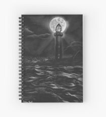 The Vacant Lighthouse Spiral Notebook