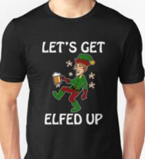 Drunk Elves Sweater Gifts Merchandise Redbubble