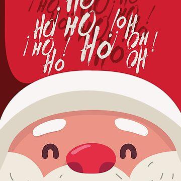 Ho ho ho Santa Claus We wish you a merry christmas by spoll
