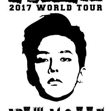 KPOP BIGBANG G-DRAGON ACT III, M.O.T.T.E TOUR by LySaVN