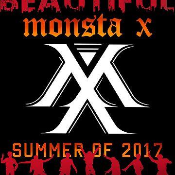 KPOP MONSTA X World Tour: BEAUTIFUL by LySaVN