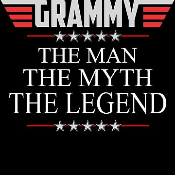Grammy The Man The Myth The Legend Father's day xmas gift by BBPDesigns